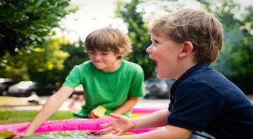 Bambini in un momento di gioco